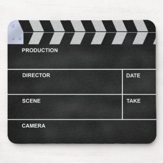 clapperboard cinema mouse pad