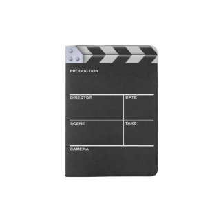 Clapperboard Cinema Passport Holder