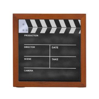 Clapperboard cinema pencil holder