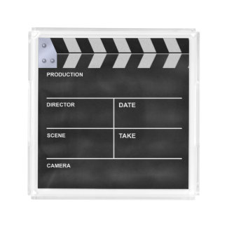 Clapperboard cinema perfume tray