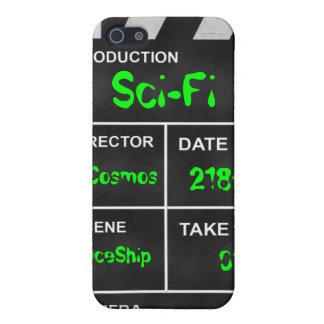 """clapperboard cinema """"Sci-Fi"""" iPhone 5/5S Cover"""