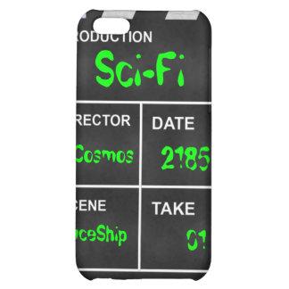 """clapperboard cinema """"Sci-Fi"""" iPhone 5C Case"""