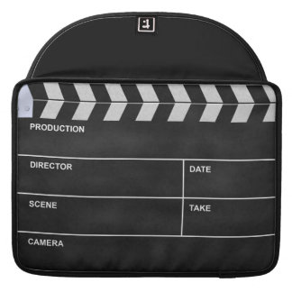 clapperboard cinema sleeve for MacBooks