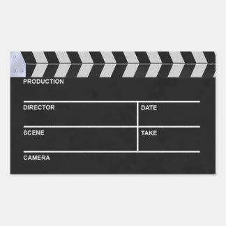 clapperboard cinema sticker
