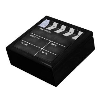 clapperboard cinema trinket box