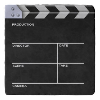 Clapperboard Cinema Trivet
