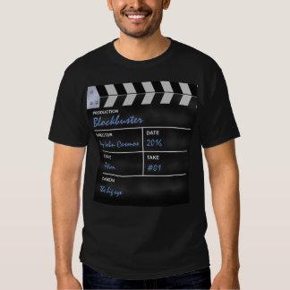 Clapperboard cinema tshirt