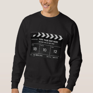 CLAPPERBOARD CLASSIC sweatshirt with your text