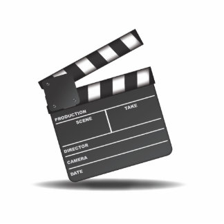Clapperboard Cut Outs