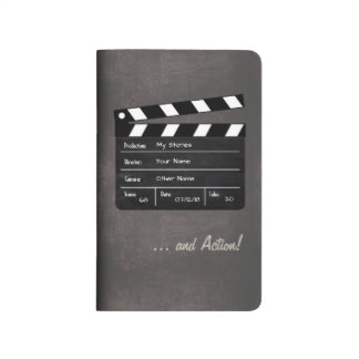 Clapperboard with Your Text! Journal