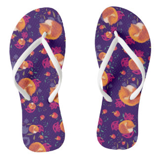 clappers foxes flip flops
