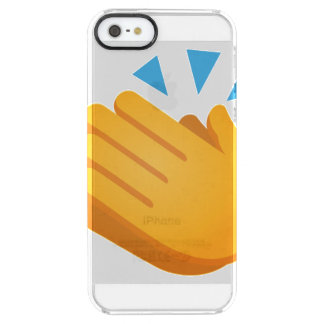 Clapping Emoji Clear iPhone SE/5/5s Case