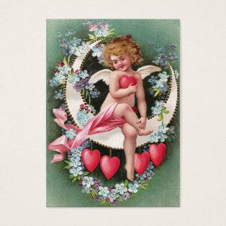 Clapsaddle: Cherub on a Sickle Moon 1 Business Card