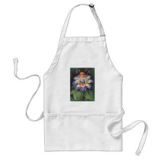 Clapsaddle: Flower Cherub Aster Apron