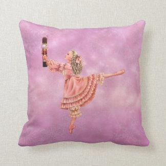 Clara and the Nutcracker Pillow