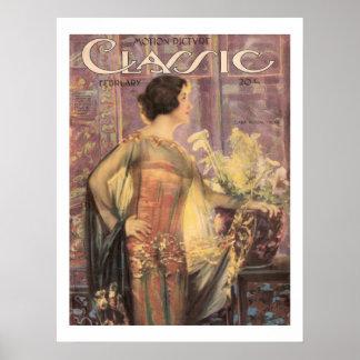 Clara Kimball Young Vintage Movie Magazine Print