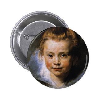 Clara Serena Rubens 2 Inch Round Button