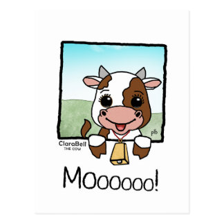 Clarabell the Cow (Pathway Pet) Postcard