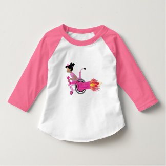 ClaraBelle Blue Baseball Tee (TODDLER)