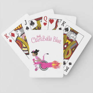 ClaraBelle Blue Playing Cards