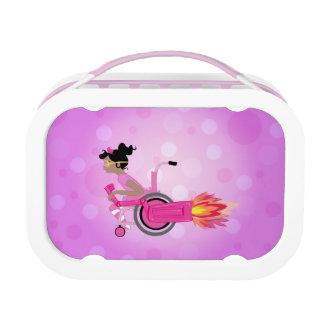 ClaraBelle Blue Rocketchair Lunchbox