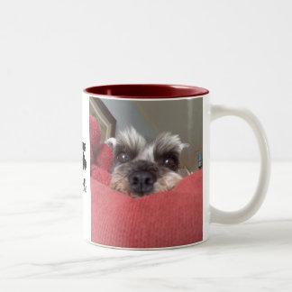 Clarabelle Schnauzer Rescue Mug