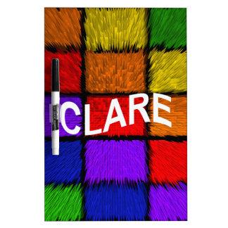 CLARE Dry-Erase WHITEBOARD