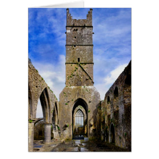 Claregalway Friary Greeting Card