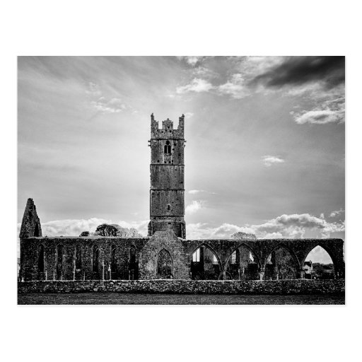 Claregalway Friary Post Card