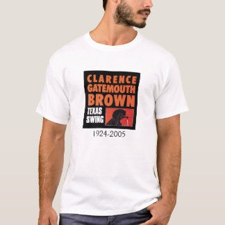 Clarence Gatemouth Brown Blues T Shirt