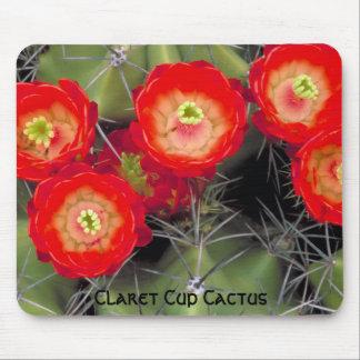 Claret Cup Cactus Blossoms Mousepad