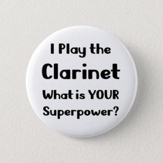 Clarinet 2 Inch Round Button