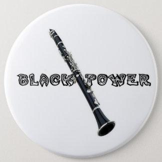 Clarinet 6 Inch Round Button