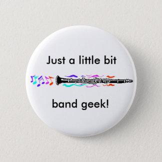 Clarinet Band Geek 2 Inch Round Button