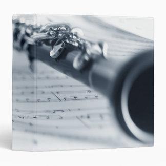 Clarinet Vinyl Binder