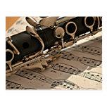 Clarinet Closeup Postcards