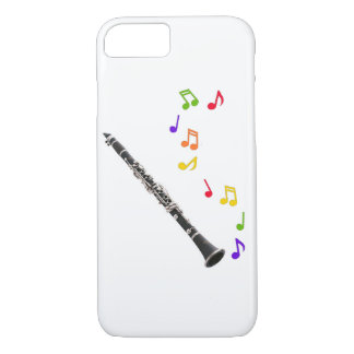 Clarinet Colorful Music iPhone 7 Case