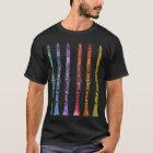 Clarinet Crayons T-Shirt