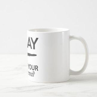 clarinet designs coffee mug