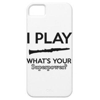 clarinet designs iPhone 5 cases
