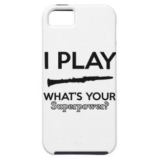 clarinet designs iPhone 5 cover