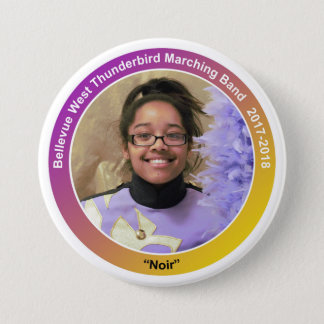 clarinet_FayeH_senior 3 Inch Round Button