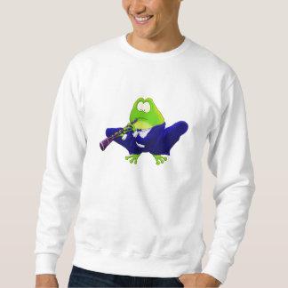 Clarinet Frog Sweatshirt