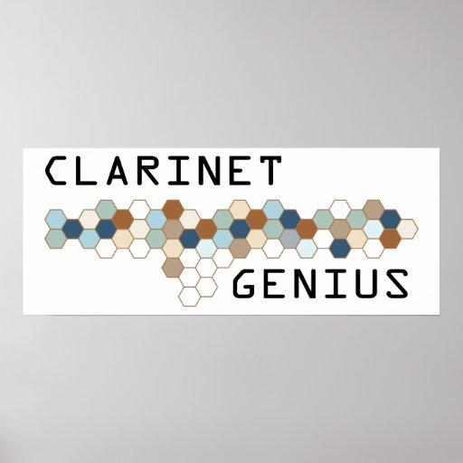 Clarinet Genius Print
