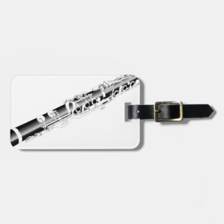 Clarinet Luggage Tag