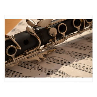 Clarinet Music Melody Clarinets Musical Dance Post Cards