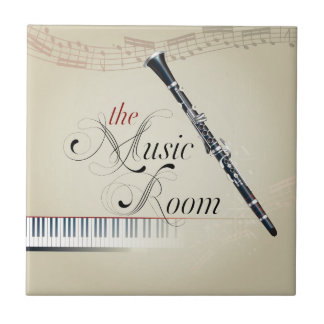 Clarinet Music Room Tile