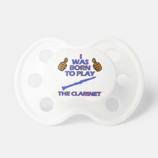clarinet Musical designs Pacifier