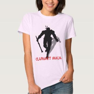 Clarinet Ninja Shirts