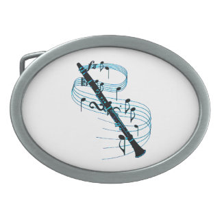 Clarinet Oval Belt Buckles